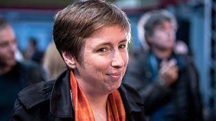 Caroline de Haas,militante féministe, fondatrice de Egae, qui forme des entreprises et des institutions à l'égalité et à l'anti sexisme. (AURELIEN MORISSARD / MAXPPP)