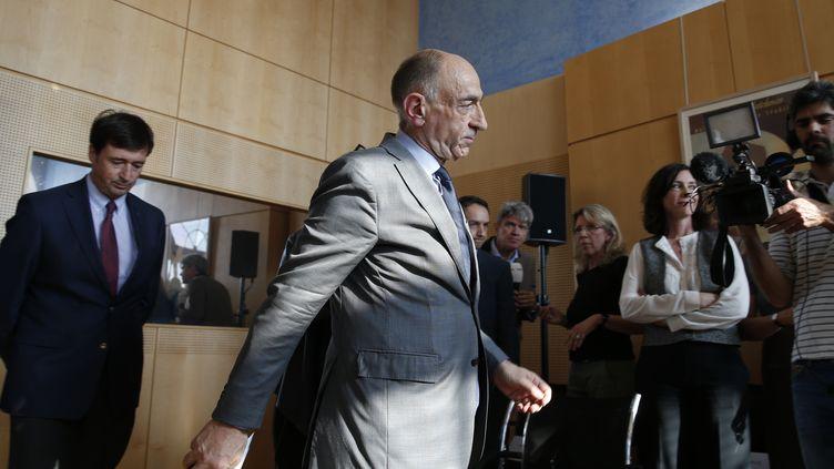 Jean-Marc Janaillac, le 4 mai 20118. (GEOFFROY VAN DER HASSELT / AFP)