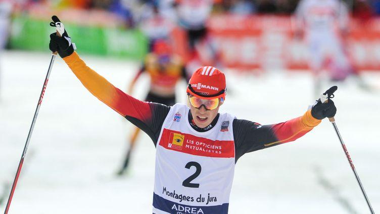 Erci Frenzel se relance dans la course au gros globe de cristal (SEBASTIEN BOZON / AFP)