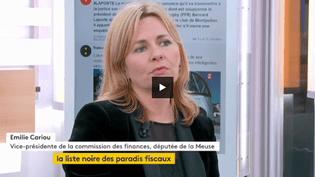 Emilie Cariou, Vice-présidente de la commission des finances et députée de la Meuse. (FRANCEINFO)