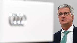 L'ex-patron d'Audi en Allemagne, le 9 mai 2018. (CHRISTOF STACHE / AFP)