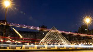 La Pyramide du Louvre, mars 2019  (KENZO TRIBOUILLARD / AFP)
