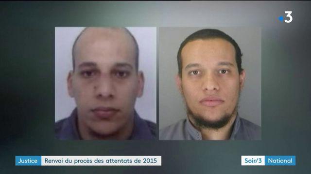 Justice : renvoi du procès des attentats de 2015