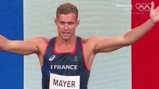 Il était mal embarqué avec un mal de dos récalcitrant. Et pourtant Kevin Mayer a tout donné dans le décathlon. L'issue du 1500 mètres garantit une médaille d'argent pour l'athlète français.