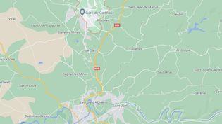 Les faits se sont déroulés à Carmaux (Tarn), mardi 7 septembre 2021. (CAPTURE D'ÉCRAN GOOGLE MAPS)