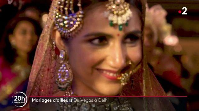Mariages : deLas Vegas à Delhi, les mariés se disent ouimalgré la pandémie