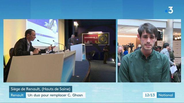 Renault : un duo pour remplacer Carlos Ghosn