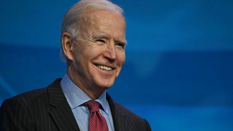 Joe Biden, le 8 janvier 2021. (JIM WATSON / AFP)