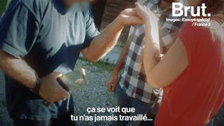 """VIDEO. """"Vous êtes en train de nous massacrer""""… échange tendu avec un éleveur de porcs suspecté de maltraitance (BRUT)"""