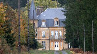 Le château du Sautou dans les Ardennes, ancienne propriété de Michel Fourniret. (FRANCOIS NASCIMBENI / AFP)