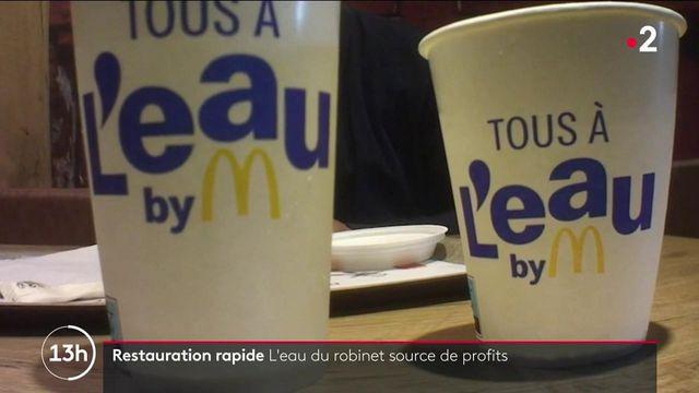 McDonald's : enquête autour du prix de l'eau