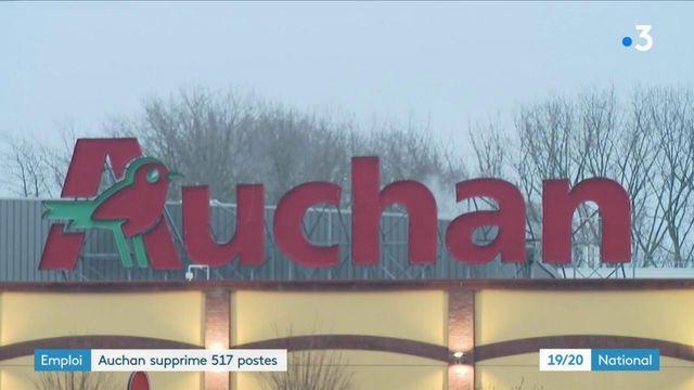 Plan social : Auchan annonce la suppression de 517 postes
