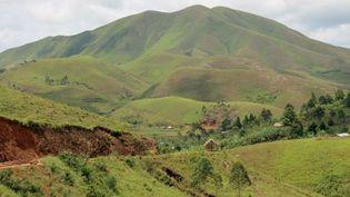 Les collines verdoyantes du Sud-Kivu, devenues la forteresse des groupes armés qui affrontent l'armée régulière congolaise. (Photo AFP/ Jürgen Bätz)