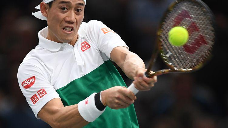 Kei Nishikori  (ANNE-CHRISTINE POUJOULAT / AFP)