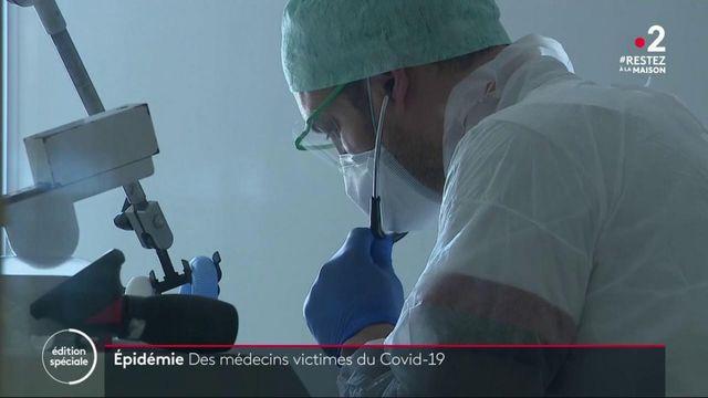 Épidémie : de nombreux soignants contaminés par le Covid-19