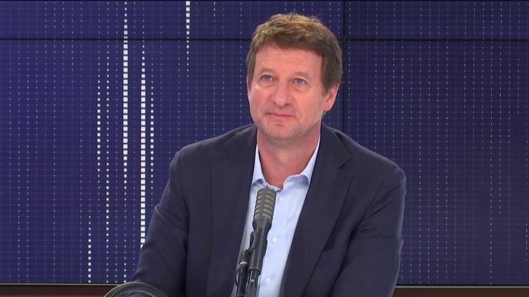 Yannick Jadot,eurodéputé EELV, était l'invité de franceinfo jeudi 25 juin 2020. (FRANCEINFO / RADIO FRANCE)