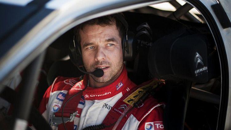 Sébastien Loeb. (JONATHAN NACKSTRAND / AFP)