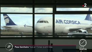 Covid-19 : la Corse, future destination test du passeport sanitaire (France 2)