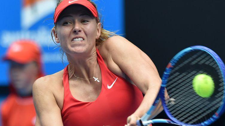 Maria Sharapova (PAUL CROCK / AFP)