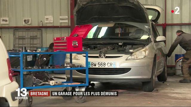 Bretagne : un garage solidaire pour les plus démunis