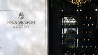 L'hôtel Georges V à Paris. (FRANCK FIFE / AFP)