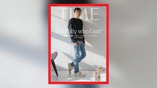 """Elliot Page, en une du magazine """"Time"""" du 29mars 2021. (TIME)"""
