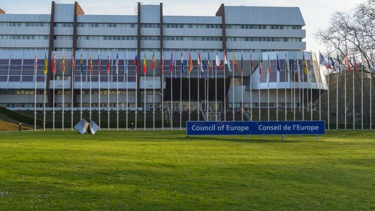 Le siège du Conseil de l'Europe à Strasbourg (Bas-Rhin), le 21 octobre 2018. (JEAN ISENMANN  / ONLY FRANCE / AFP)