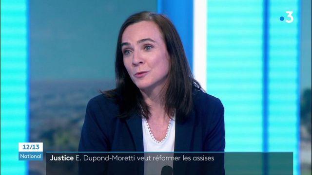 le garde des Sceaux Éric Dupond-Moretti veut reformer les assises