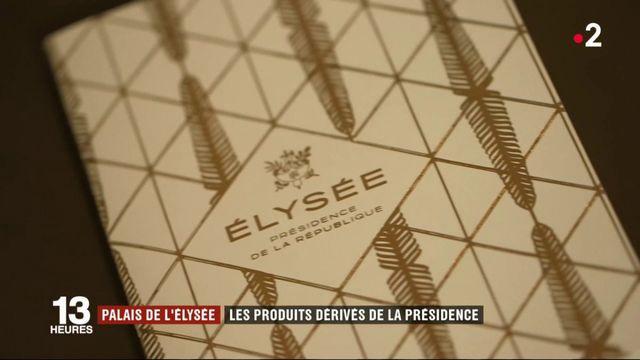 Palais de l'Élysée : les produits dérivés de la présidence