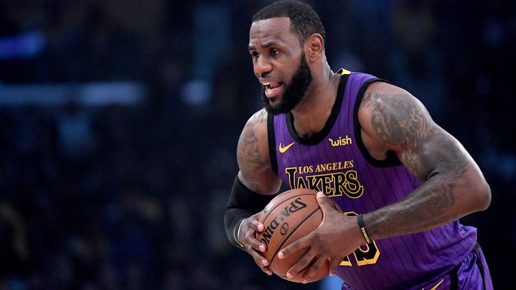 LeBron James (Los Angeles Lakers) (HARRY HOW / GETTY IMAGES NORTH AMERICA)