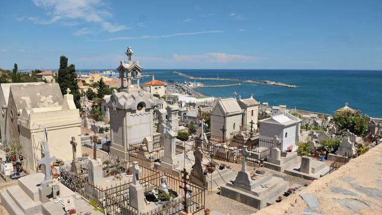 Le cimetière marin de Sète (Hérault) le 23 juillet 2015 (VINCENT ANDORRA / MAXPPP)