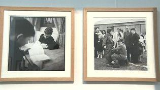 Une centaine de clichés de Raymond Depardon pris pendant son service militaire sont exposés au musée des Beaux-arts de Châlons-en-Champagne, dans la Marne. (CAPTURE ECRAN FRANCE 3)