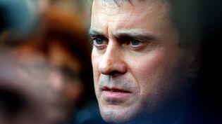 Manuel Valls, le 6 décembre 2013, lors d'un déplacement à Sézanne (Marne). (FRANCOIS NASCIMBENI / AFP)