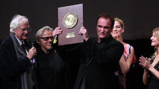 Quentin Tarantino et son prix Lumière  (Jean-François Lixon)