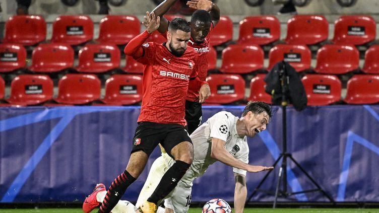 Les Rennais peuvent nourrir des regrets après ce match nul (DAMIEN MEYER / AFP)
