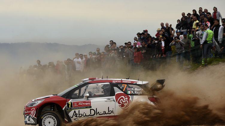 Kris Meeke (Citroën) (FRANCISCO LEONG / AFP)