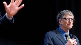 Le cofondateur de Microsoft, Bill Gates, le 26 janvier2016 à Amsterdam (Pays-Bas). (EVERT ELZINGA / ANP MAG / AFP)