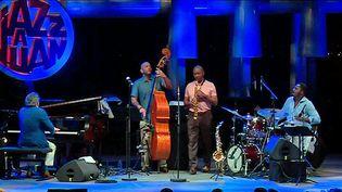 Branford Marsalis et son quartet.  (Capture d'écran France 3 Côte d'Azur )