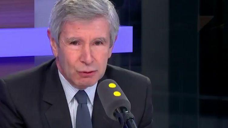 Alain Minc, en février 2017. (FRANCEINFO / RADIOFRANCE)