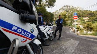 Des policiers à Toulon (Var), le 15 juillet 2015. (photo d'illustration) (MAXPPP)