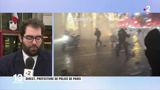 Édouard Philippe au chevet des policiers agressés