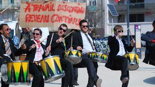A la manifestation des intermittents, le 20 mars 2014 à Paris.  (Citizenside / Christophe Estassy / AFP )