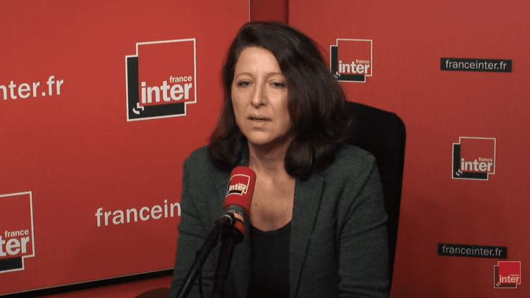 La ministre de la Santé Agnès Buzyn, le 14 février 2018, sur France Inter. (RADIO FRANCE / CAPTURE ECRAN)