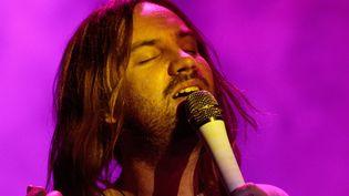Kevin Parker, chanteur, musicien, producteur et tête pensante du groupe australien Tame Impala, au festival Zilker Park d'Austin (Texas) le 4 octobre 2019. (SUZANNE CORDEIRO / AFP)