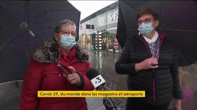 Coronavirus : les aéroports et centres commerciaux bondés avant le début des nouvelles mesures sanitaires