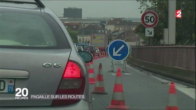 Inondations : pagaille sur les routes