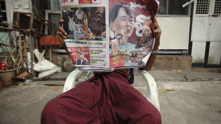 Des élections partielles se déroulaient en Birmanie dimanche 1er avril 2012. (REUTERS)