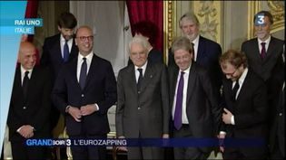 Le nouveau gouvernement italien de Paolo Gentiloni (FRANCE 3)
