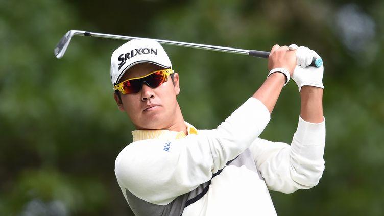 Membre du Top 20 mondial, le Japonais Hideki Matsuyama (JIM WATSON / AFP)