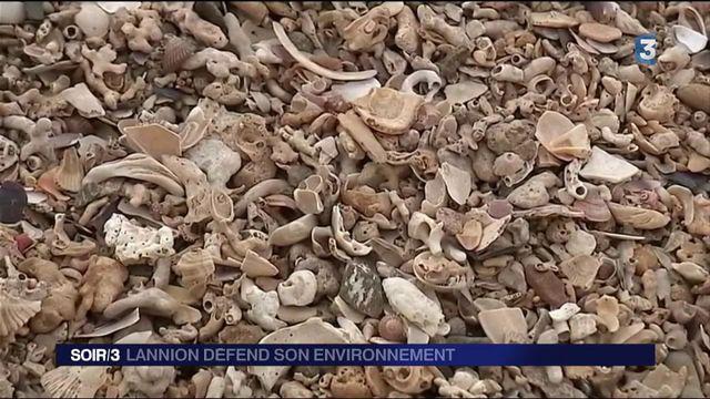 Les habitants de la baie de Lannion défendent leur sable